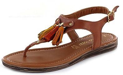 Marco Tozzi Premio 28142, Women s Wedge Heels Sandals, Brown (Muscat Comb  354) 655158f136
