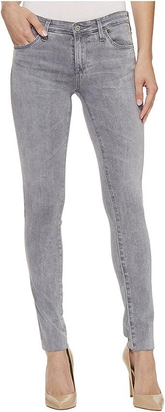 AG Adriano Goldschmied Womens The Legging Ankle Front Slant Hem Skinny Jean