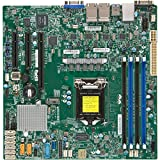 Supermicro Motherboard-X11SSH-LN4F-O LGA1151 Socket H4 E3-1200v5 Core 236 DDR4 PCI Express SATA Micro ATX Brown Box