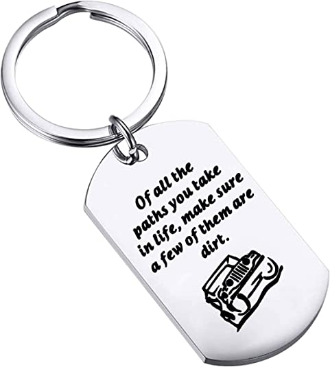 Just Shut Up Extra Large Colourful Keyring /& Bag Tag Mothers Day Gift