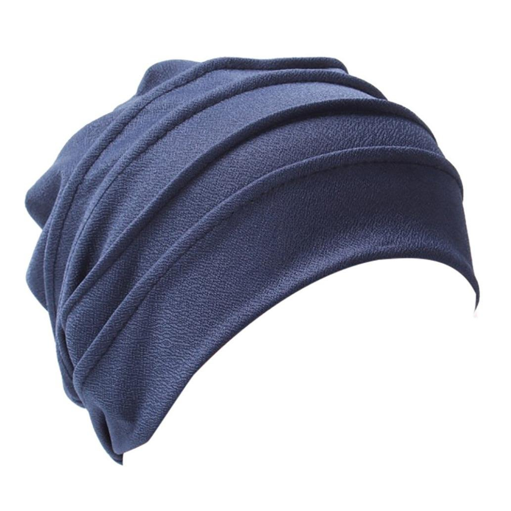 Witspace Women Muslim Cancer Chemo Hat Beanie Velvet Turban India Head Wrap Cap Chemo Hats