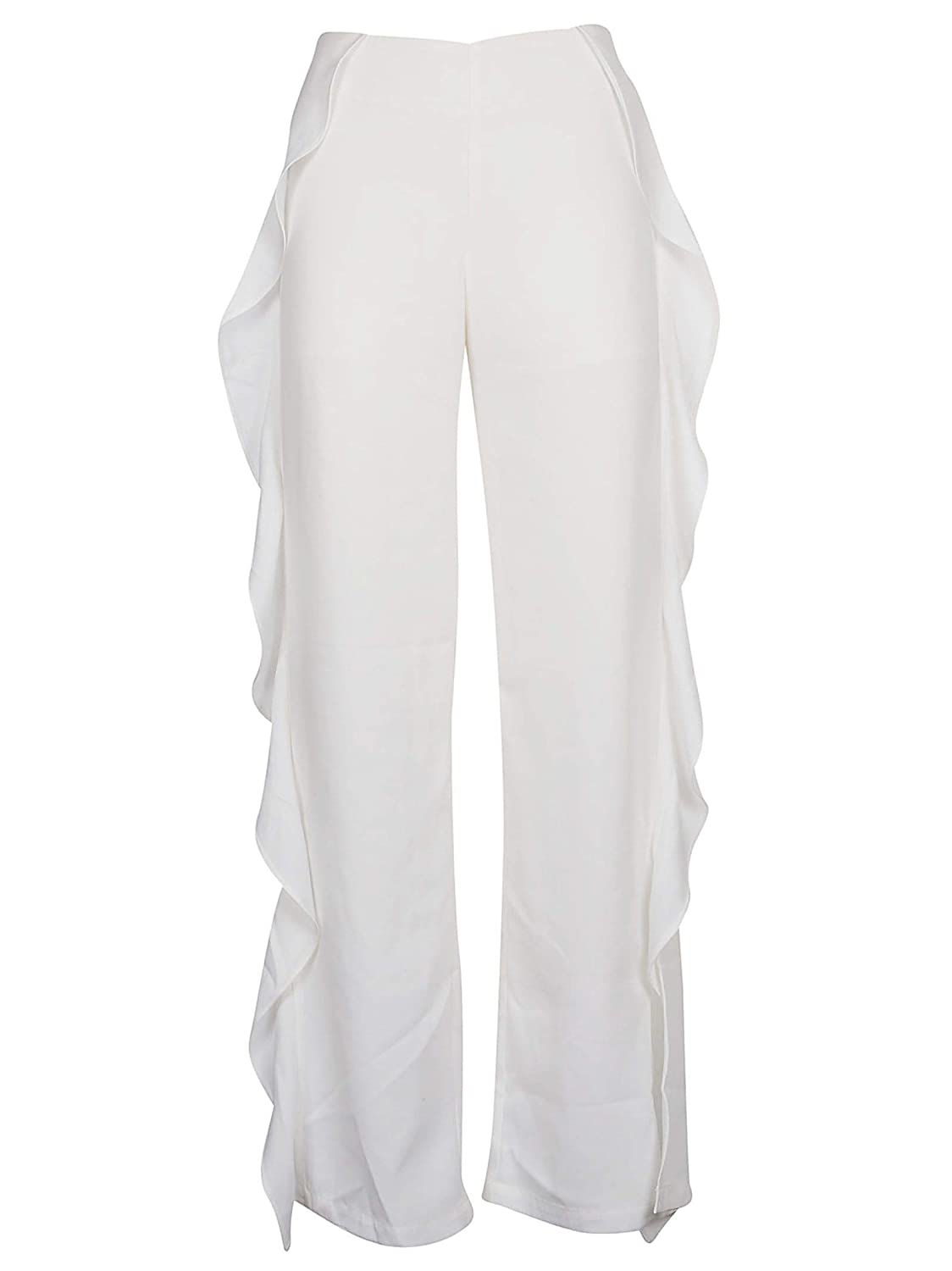 Jovonna London Women's 347MAJAWHITE White Polyester Pants