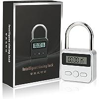 Brynnl Smart Time Lock 99 uur Max Timing Lock met LCD-scherm USB Oplaadbaar Beveiligingshangslot Heavy Duty metalen…