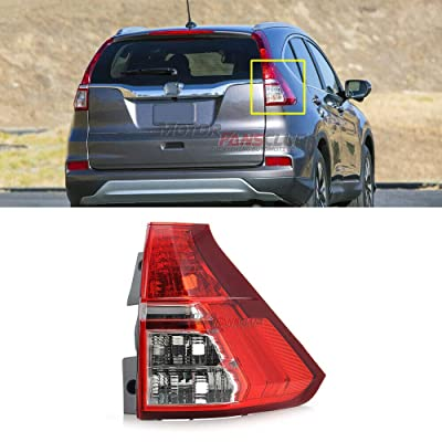 MotorFansClub Tail Light Lamp for Honda CR-V CRV RM1 RM3 RM4 2015-2016 Rear Right Passenger Side RHS (US Shipment): Automotive