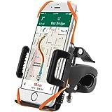 TaoTronics Handyhalterung Fahrrad Smartphone Handyhalter Fahrrad Verstellbar für iPhone 7 6S/6S Plus 6/6Plus 5S/4S Galaxy S5/S4/S3