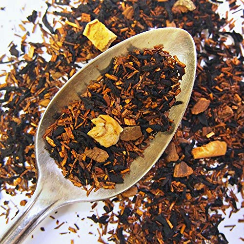 (Plum Deluxe Caramel Almond Amaretti Bold and Sweet Black Tea (Caramel/Almond) Organic Non-GMO Loose Leaf Premium Tea Made in the USA (45+ Cups from 3 Oz. Pouch))