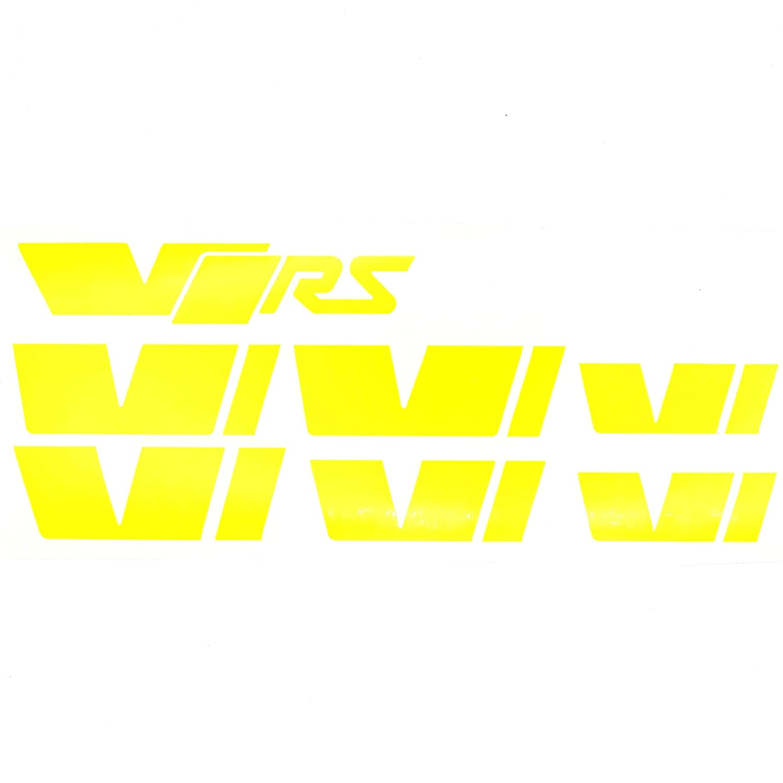 058 VRS Emblem Folien Set (Schwarz Glanz) Finest-Folia GmbH