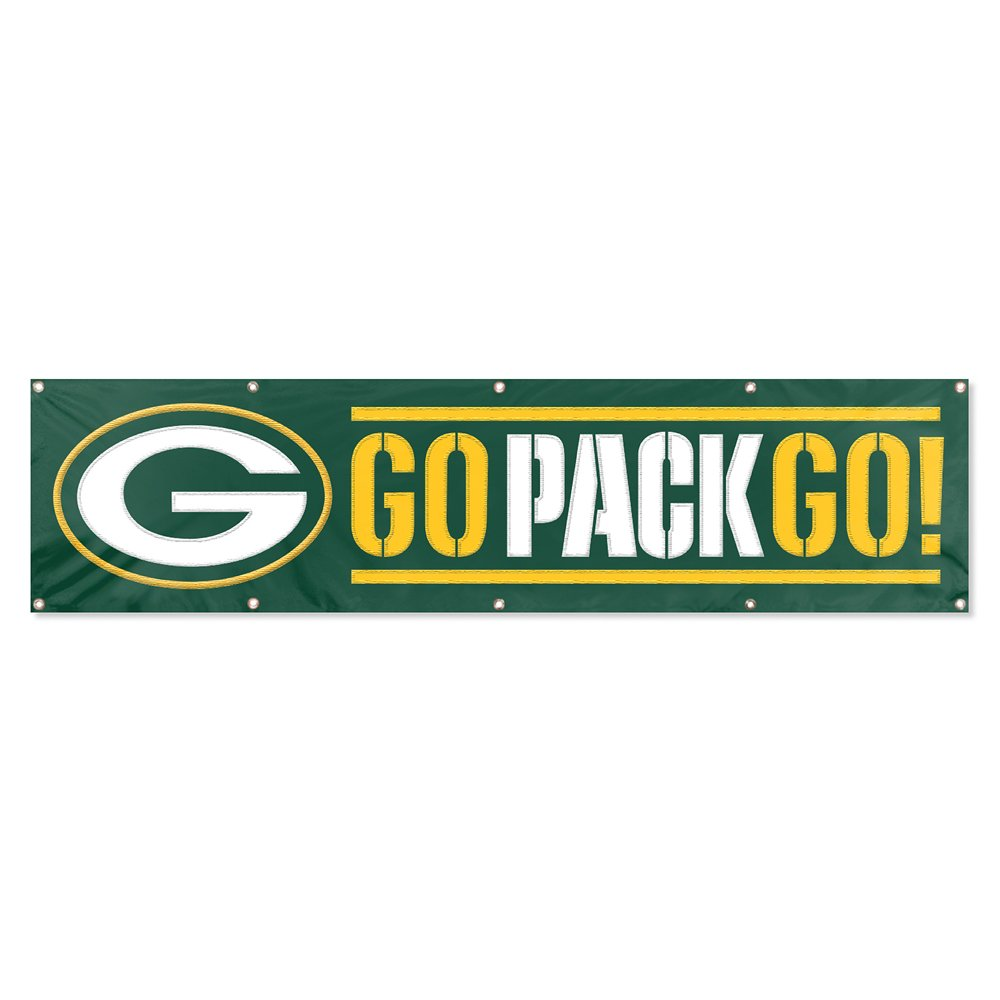 Party Animal Green Bay Packers 8'x2' NFL Banner