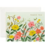 Rifle Paper Co Shanghai Garden Thank You Cards Set of 8