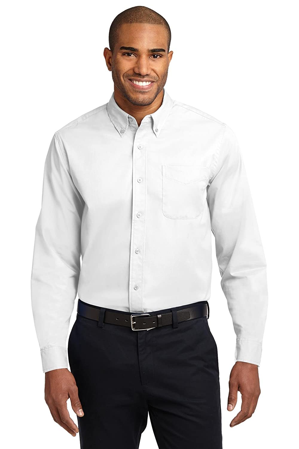 10cc2f9fff1261 Port Authority Men's Long Sleeve Easy Care Shirt at Amazon Men's Clothing  store: Button Down Shirts
