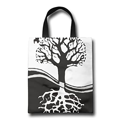 GWD Housewares Bonsai Tree Circle Root Reusable Carrying Bag Shopping Bags Party Bags Retail Bags Craft Bags: Home & Kitchen
