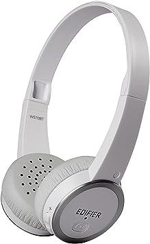 Edifier W570Bt Auriculares Bluetooth de Diadema Cascos Over-Ear Ligeros Inalámbricos Blancos On-Ear para TV, Móvil, PC-Blanco: Amazon.es: Electrónica