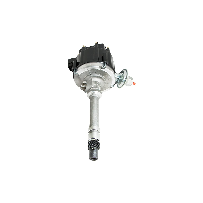Top Street Performance JM6515BK HEI Distributor Black Cap