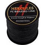 Hercules 500m 547yds Superline 6lbs-100lbs Pe Dyneema Braided Fishing Line 4 Strands