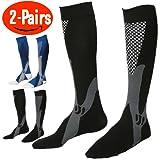 Amazon Price History for:Compression Socks for Men & Women,(Pair Of 2) Running Socks ,Sport Socks for Running, Nurses,Shin Splints,Flight Travel,& Maternity Pregnancy.Boost Stamina, (L/XL (Women 8-15.5 / Men 8-14) by ANGELGG