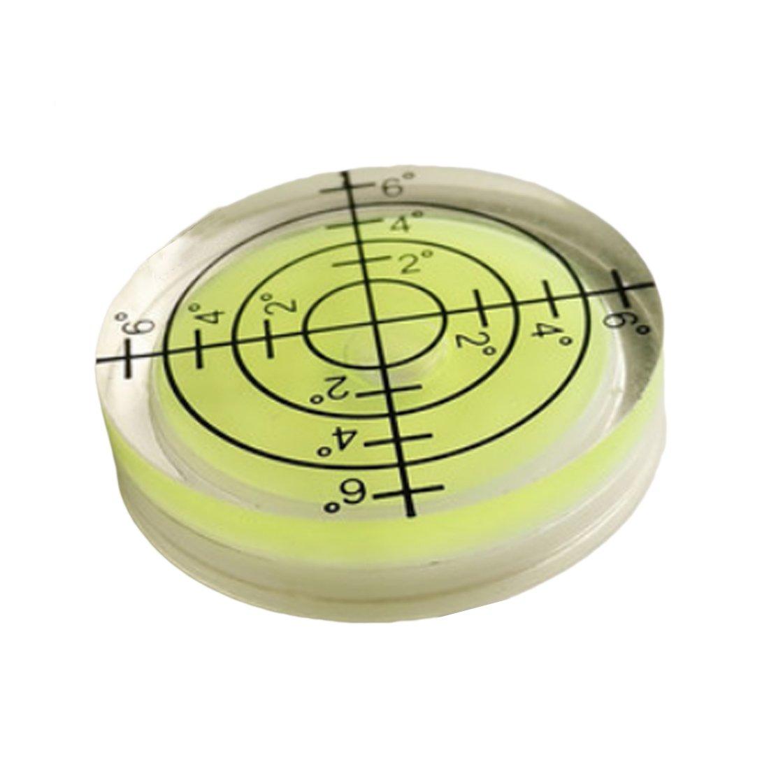 40 mm cuadrado PMMA nivel de burbujas acr/ílico Shell nivel de espiral 3 piezas 15 15