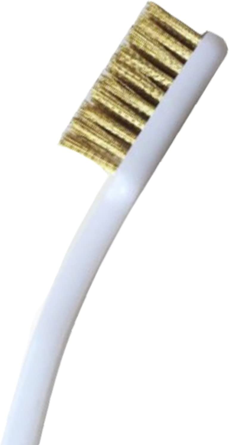 MadridGadgetStore® Cepillo de Limpieza con Cerdas de Latón para ...