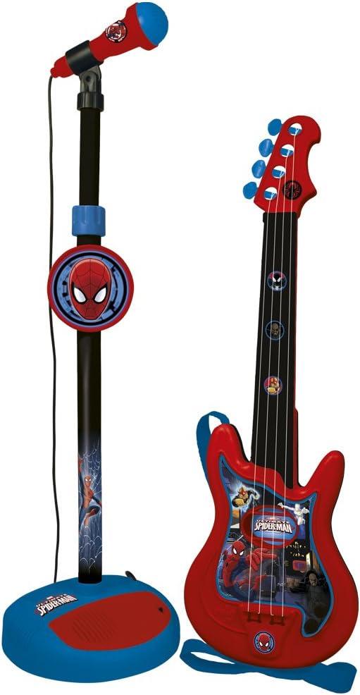 CLAUDIO REIG Spiderman-Conjunto de Guitarra y micrófono (552) (72 ...