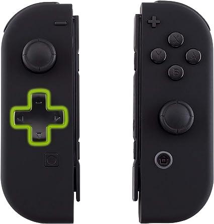 eXtremeRate Carcasa Joy-con Botones Completos D-Pad para Nintendo Switch Funda de Agarre Reemplazable Tacto Suave Shell para Nintendo Switch No Incluye la Carcasa de la Consola (Negro): Amazon.es: Electrónica