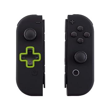 eXtremeRate Carcasa Joy-con Botones Completos D-Pad para Nitendo Switch Funda de Agarre Reemplazable Tacto Suave Shell para Nitiendo Switch No Incluye ...