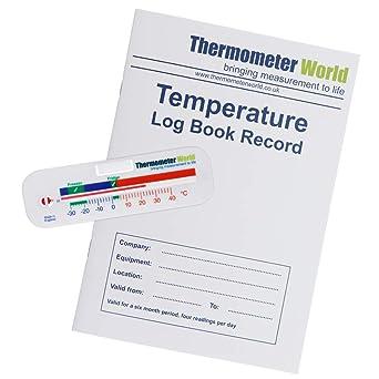 Termómetro para frigorífico y congelador con indicador de ...