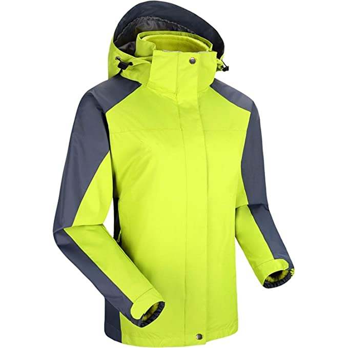Hombres Trajes de esquí para Mujer Chaquetas Impermeables al Aire Libre Mantener cálidos Pareja Trajes de esquí, Verdes: Amazon.es: Ropa y accesorios
