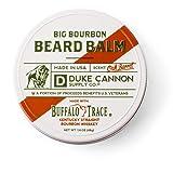 Duke Cannon Supply Co. - Big Bourbon Beard Balm, Bourbon Oak Barrel (1.6 oz), Made with Buffalo Trace, Paraben-Free Beard Car