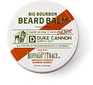 product image for Duke Cannon Supply Co. - Big Bourbon Beard Balm, Bourbon Oak Barrel (1.6 oz), Made with Buffalo Trace, Paraben-Free Beard Care Moisturizer and Softener - Bourbon Oak Barrel Scent