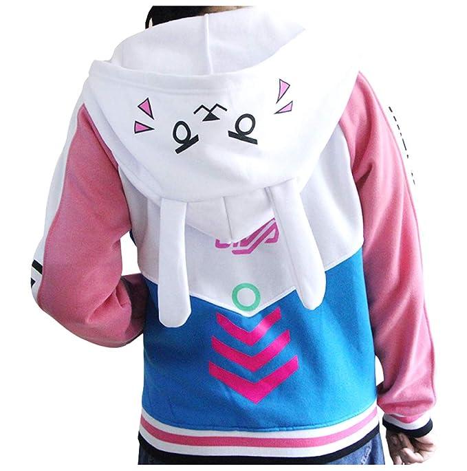 Amazon.com: Cosplaybala - Chaqueta con capucha para niña con ...