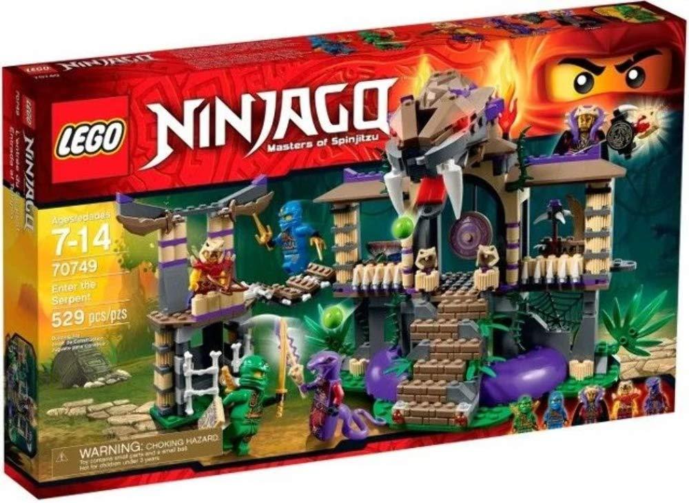 Lego Ninjago - Entrada al Templo, Multicolor (70749)