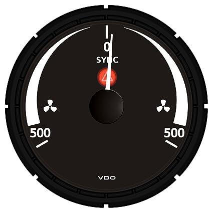 Amazon.com: VDO A2C53194780-S Synchronizer Gauge: Automotive on