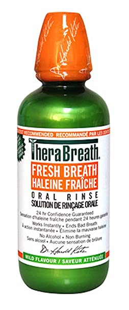 $9.19 TheraBreath Dentist Recommended Fresh Breath Oral Rinse