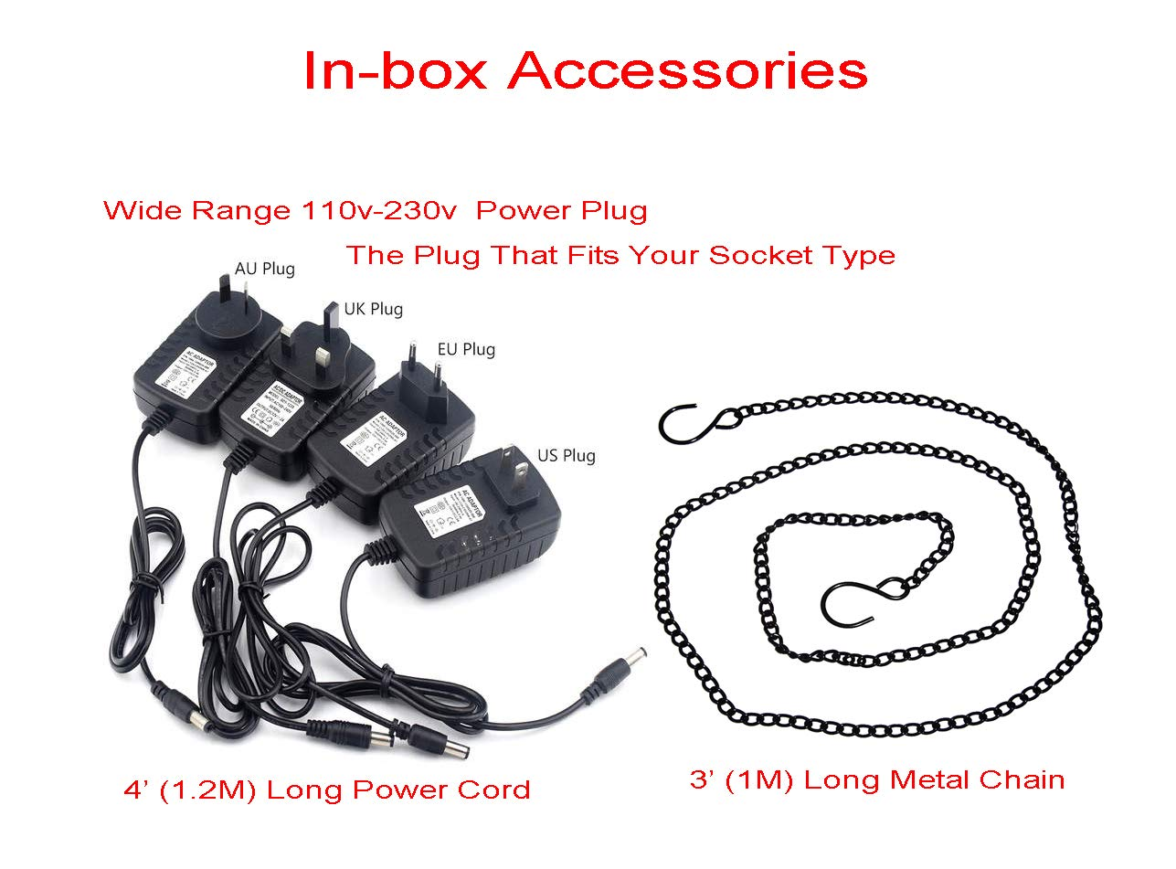 Samsung LG Sony Nexus Droid Red Jawbone 1 Pack Motorola Google HTC Unitesoul USB 2.0 Cables Lichen Keychain Micro USB to USB Charger and Sync for Andriod