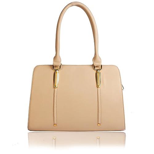 1a7067fc1d1d Yark Women s Handbag (Beige)  Amazon.in  Shoes   Handbags