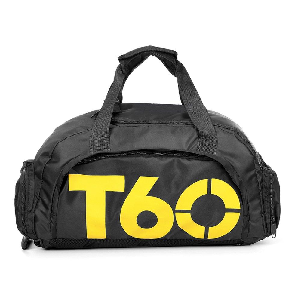 Obling 35L Cabas Sac de Sport avec Poche de Chaussures Sac à Dos Gymnastique Unisexe Large Capacité B-Ling
