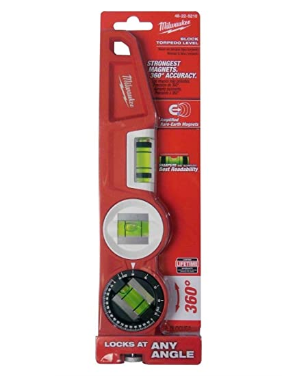 Milwaukee Electric Tool 48-22-5210 Electric Magnetic Torpedo Level - - Amazon.com