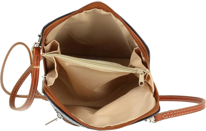 Womens Italian Leather Cross Body Handbag Small Shoulder Bag Over 30 Colours