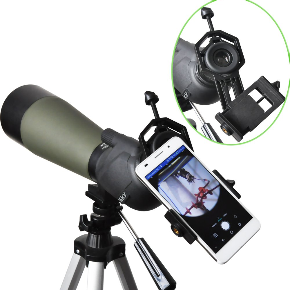 Spotting Scope Smartphone Adapter Mount Compatible Amazoncouk
