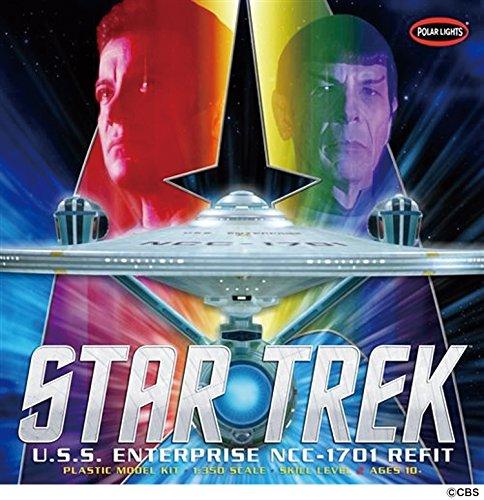 Polar Lights Model - Polar Lights POL949 1:350 Star Trek USS Enterprise Refit, Scale