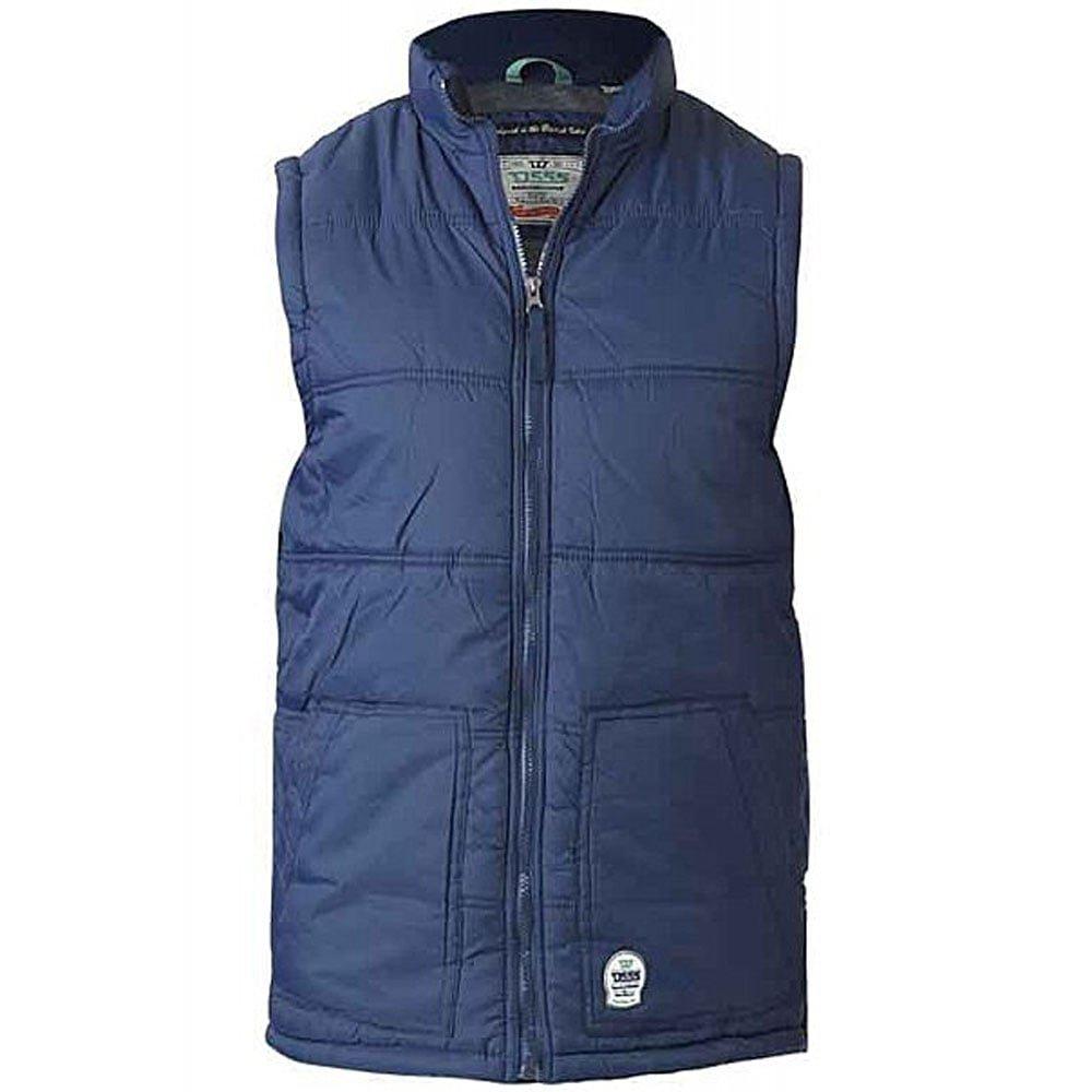 Mens Duke D555 Shaun Big Tall King Size Heavy Padded Waistcoat Bodywarmer Gilet KS13951