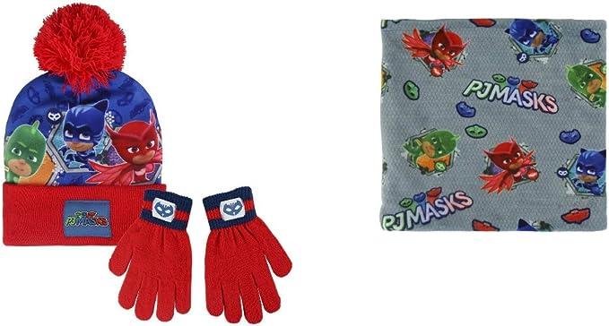 Pj Masks 3 pz cappello guanti sciarpa
