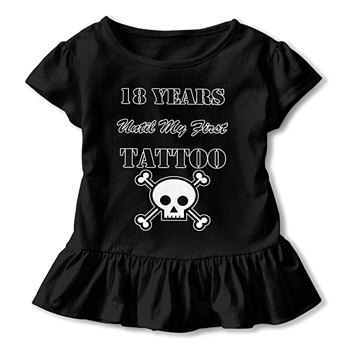 Amazon.com: Camiseta de manga corta para niñas de 18 años ...