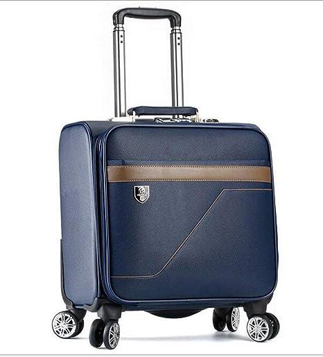 Maleta de equipaje Maleta con ruedas Bolsa de ordenador portátil con ruedas y carrito de 18 ...