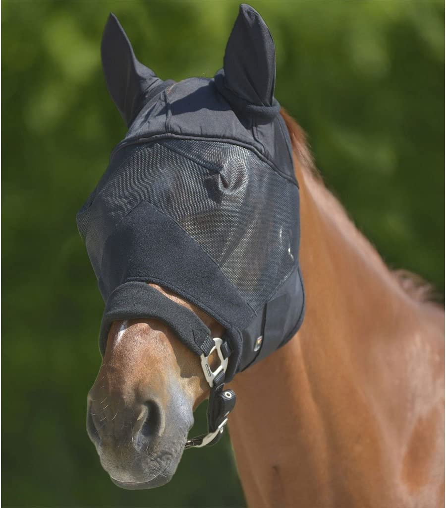 Bosque de haley Máscara de la mosca Premium con Protección para los oídos