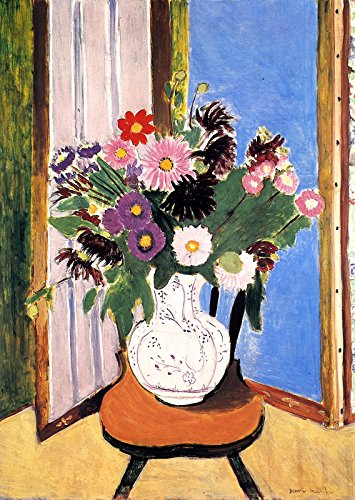 Henri Matisse - Bouquet of Flowers - Daisies Private collection 30