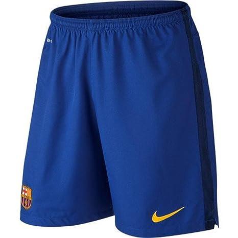Nike 2015 16 Mens FC Barcelona Goalkeeper Stadium Shorts  Bright Blue  (XL ff0b02bede0a8