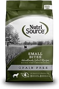Nutrisource Grain Free Woodlands Small Bites 5Lb