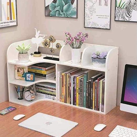 YQQ-Shelf Estantería de Almacenamiento para Libros, Estante de Escritorio Simple, Estante pequeño para Escritorio, estantería de Almacenamiento, estantería para Estudiantes, Espacio de Oficina: Amazon.es: Juguetes y juegos