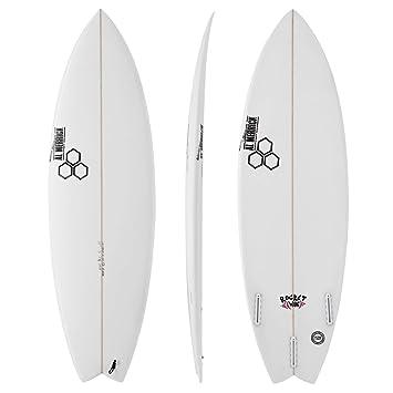 Channel Islands Rocket - Tabla de Surf de 1,52 m, Color Blanco