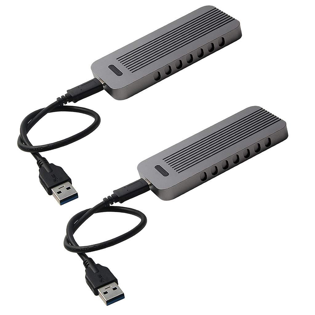 KESOTO 2 Unidad Caja de Disco Duro USB 3.1 Complimentos ...